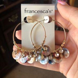 NWT Francescas earrings